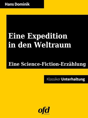 cover image of Eine Expedition in den Weltraum